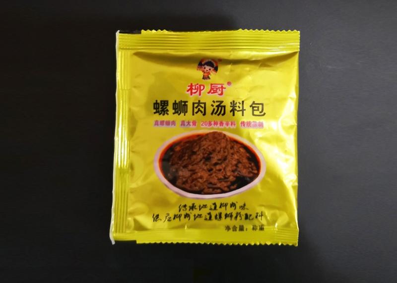 柳厨螺蛳肉汤料包35g