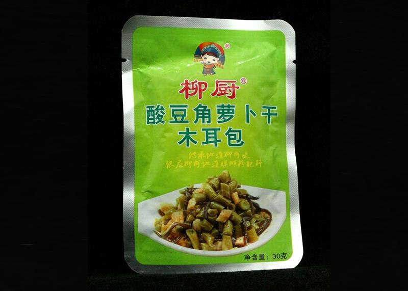 柳厨酸豆角萝卜干木耳30g